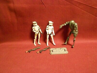 Star Wars 30TH Battle Droids Geonosis Battle Damage Loose complet