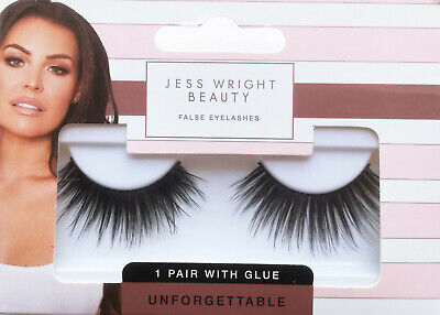 False Eyelashes Jess Wright Beauty Unforgettable 1pk Glue Bnwt 2 99 Picclick Uk