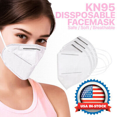 [10Pcs] KN95 Face Mask Protective Respirator Mouth Cover Air Safety Disposable