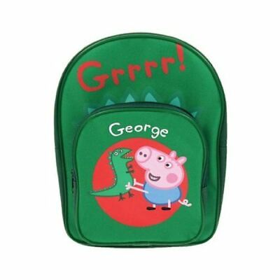 Official Merchandise Peppa Pig George And Dino Backpack PEPPA001238