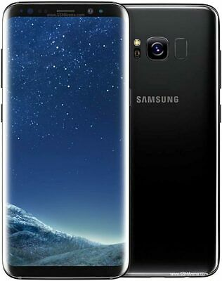 "Samsung Galaxy S8 SM-G950F - 64GB  - Midnight Black (Unlocked) 5.8"" Smartphone"
