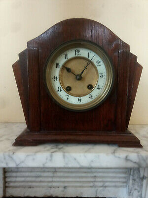 Small mantle mantel clock Art Deco HAC movement spares and repairs