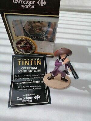 Collection Officielle  Figurine carrefour market capitaine haddock neuf boite