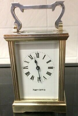 "Vintage Mappin And Webb Carriage Clock ""Working"""