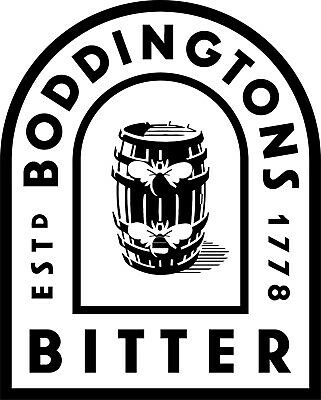 Boddingtons Bitter Colour logo Wrap  Fridge Freezer Sticker different sizes