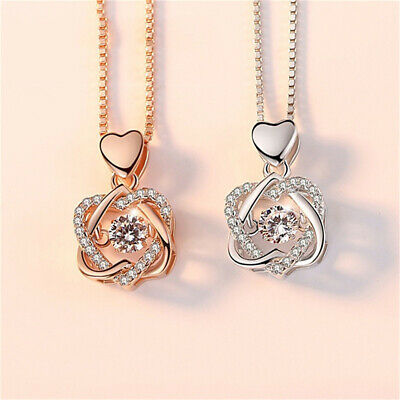 """Men Women Chain Necklace Rose Gold Plated Simple DD 45cm 17.5/"""" Small Classic UK"""