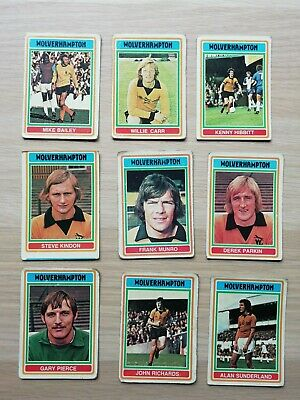 Wolverhampton Wanderers 1958 Division one Champions Trading Cards 1957-58