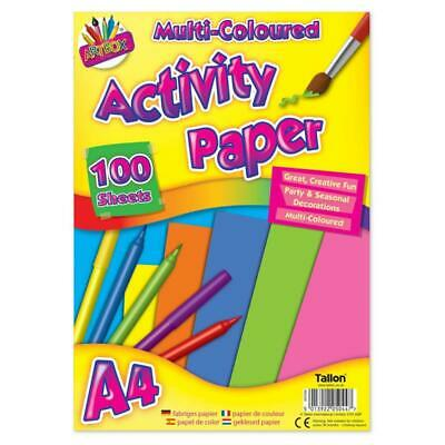 High Quality Artbox Multi Coloured Activity Paper 70 Sheets For Creative Fun