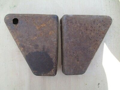 Left /& Right Side Code-09 Bsa A65 Black Painted Fiber Made Side Body Panels