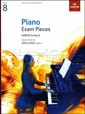 Piano Exam Pieces 2021-2022 ABRSM Grade 8 Sheet Music Book SAME DAY DISPATCH
