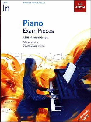 Piano Exam Pieces 2021-2022 ABRSM Initial Grade Music Book SAME DAY DISPATCH