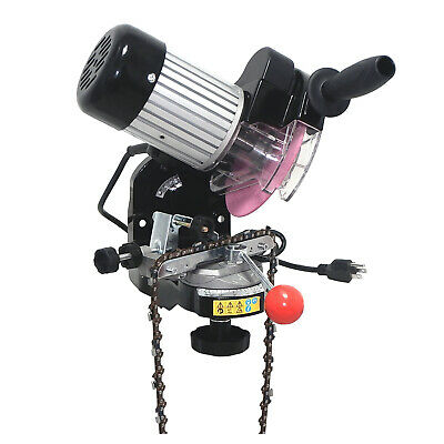 Electric Chainsaw Chain Grinder Sharpener - Comes with 2 wheels and tools