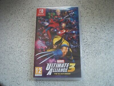 Nintendo Switch: Marvel Ultimate Alliance 3.EMPTY ORIGINAL BOX ONLY.