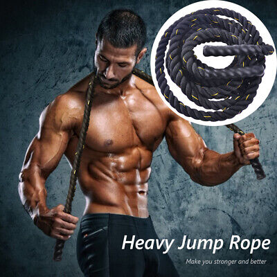 2.6LB //2.8 LB Thick 9ft// 9.8ft 2x Heavy Weighted Jump Rope Jumprope