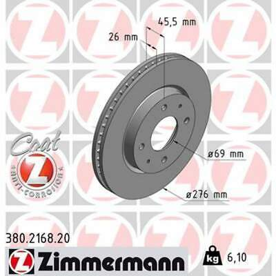 NEW MINTEX FRONT VENTED DRILLED BRAKE DISCS SET PAIR MDC1781