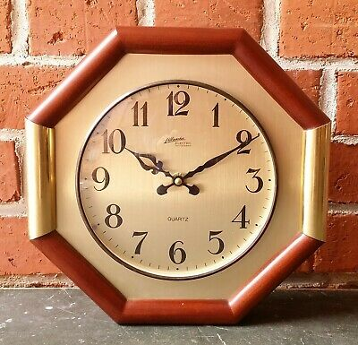 Watch Wall Clock Living Junghans Quartz Atlanta Electric Made IN Western Germany