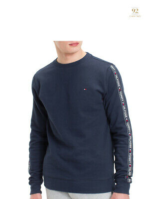 Tommy Hilfiger Mens Long Sleeve Thermal Crewneck T-Shirt Red M
