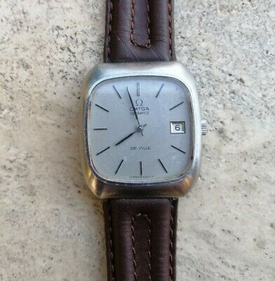 OMEGA DE VILLE Quartz Vintage Not Working EUR 52,00