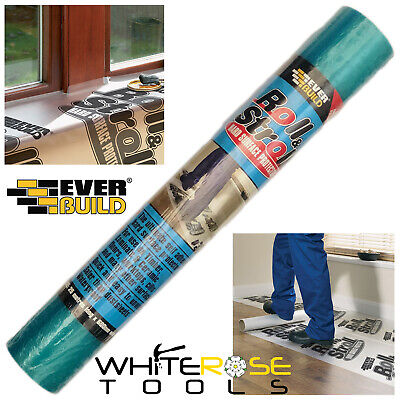 Sika Everbuild Hard Surface Protector Film 75m Roll /& Stroll 600mm x 25m