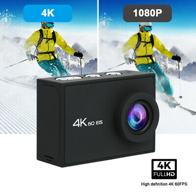 4K 60FPS Double Screen High Definition Waterproof Sports Camera Remote Control