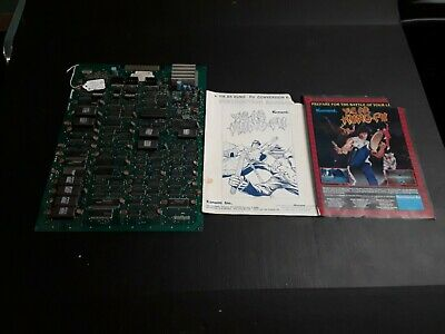 Details about  /Yie Ar Kung Kung Video Arcade game board by Konami-WORKING!