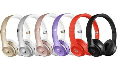 Beats By Dr Dre Solo3 Wireless On Ear Headphones Brand New 14 Colors 135 00 Picclick
