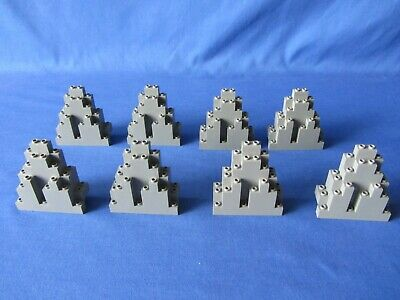 LEGO PART 6083 ROCK WALL MOUNTAIN  OLD DARK GRAY  FOR VINTAGE SETS
