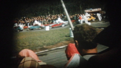 200Ft Standard 8mm Cine Film 1960s UK Stock Cars, Woburn Wild Animal Park (RK19)