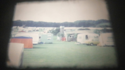 150Ft Super 8 Cine Film. 1970's UK Camping Trip and Wedding (RK22)