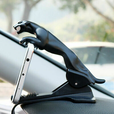 Car Leopard Dashboard Phone Holder 360 Degree Phone Mount Clip GPS Stand Bracket