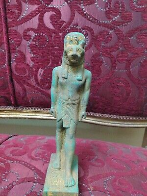 Rare Antique Statue Rare Ancient Egyptian Pharaonic Sekhmet stone 28 cm Bc