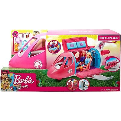 Barbie Dream Plane 15 Piece Playset