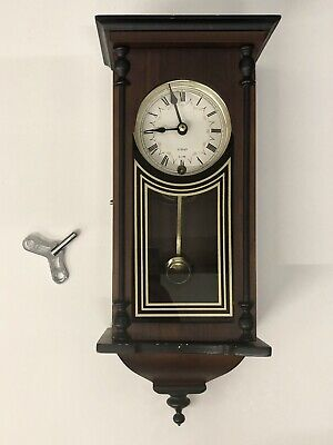 Wall Clock 31-Day Wind-up Clock With Key. Working & Holds Time - CHR