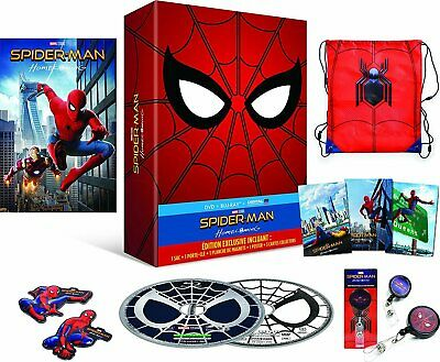 Spider-Man Homecoming Coffret Édition Collector Blu-Ray + DVD + CADEAU + Goodies