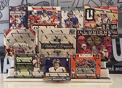 CLEVELAND BROWNS 2019 Football 10 Box Case Break Mixer Treasures-Prizm-Illusions