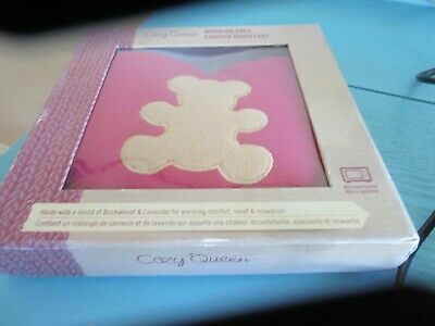 Quality Small heart shaped COZY Queen warming Pack Buckwheat & Lavender
