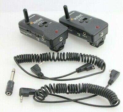 Bowens Pulsar Radio Trigger System BW5150 Transceiver & leads x2