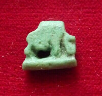 EGYPT Late period 664-332 BC. Green Faience Amulet of the goddess Nut