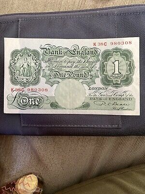 Old English One Pound Note