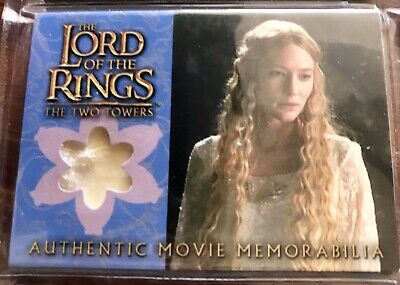 Costume Card Lord of the rings LOTR Galadriel silk chiffon TOPPS