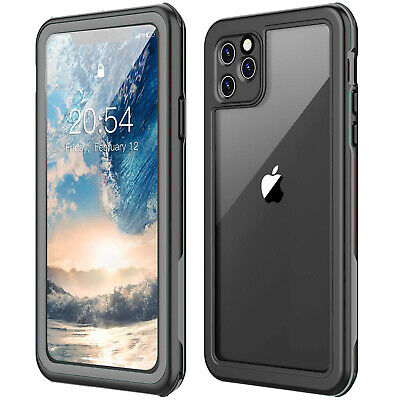 Thin Heavy Duty iPhone 11 Case Waterproof 11 pro max Shockproof Screen Protector