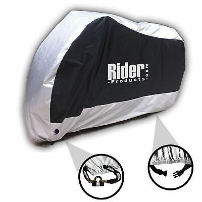 Wing Mirrors World Honda NSC50R Rider Products Waterproof Motorcycle Cover Motorbike Black