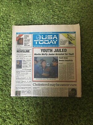 back to the future usa today Oct 22, 2015 Complete