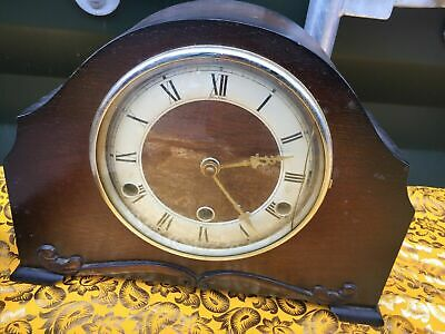 High End 1930s Perivale 8 Day Westminster Chime Mantel Clock