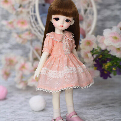 New Dress clothes Hair shoes For 1//6 BJD Doll Lola