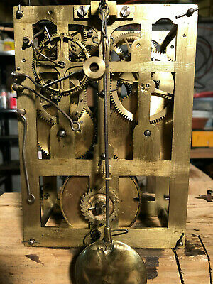 Antique Black Forest 8 Day Fusee Cuckoo Clock Movement... Runs Perfect