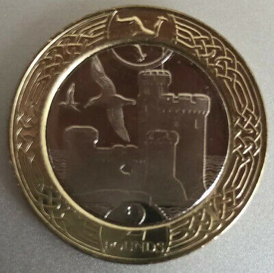 2017 Isle of Man Tower of Refuge £2 coin - Straight From Sealed Bag