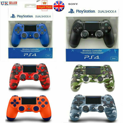 UK PS4 DualShock 4 Controller Black White Red Blue V2 BRAND NEW SEALED OFFICIAL