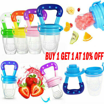 Baby Feeding Pacifier Safe Food Fresh Fruits Feeder Dummy Soother Weaning Nipple