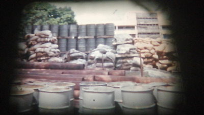 200Ft Standard 8mm Cine Film 1970's poor work conditions in Africa. (RK44)